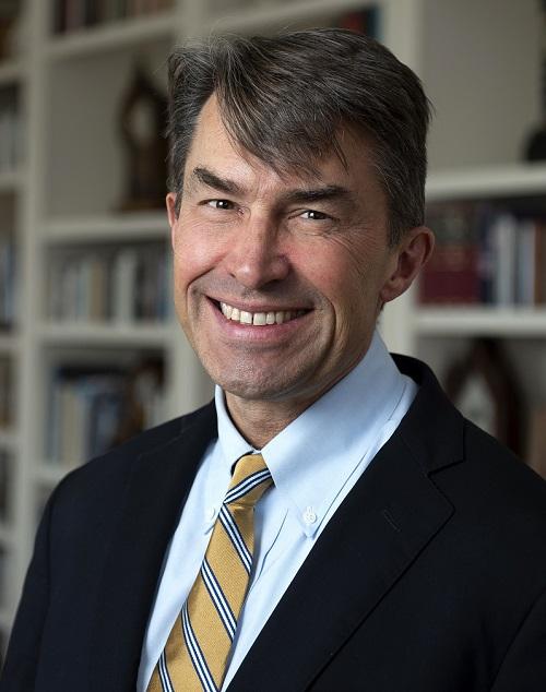 A portrait of David McConkey, director of the Greenberg Bladder Cancer Institute