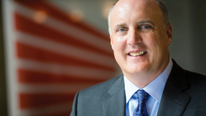 A portrait of Steve Moore, chair of the Bloomberg School of Public Health advisory board
