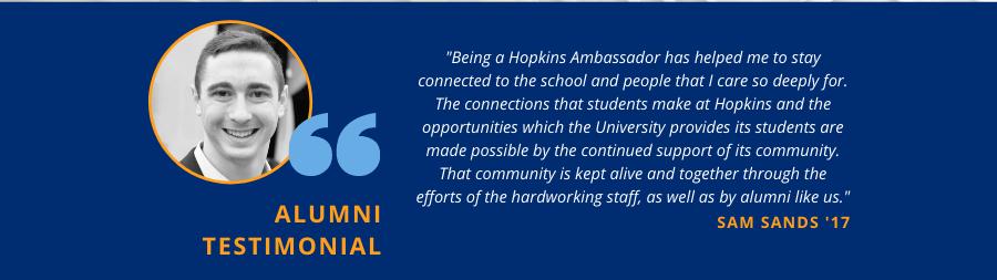 Testimony about the Ambassador program.