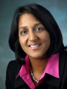 Portrait of Amita Gupta.